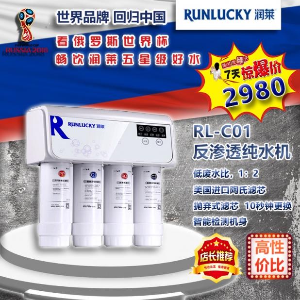 RL-C01反渗透纯水机